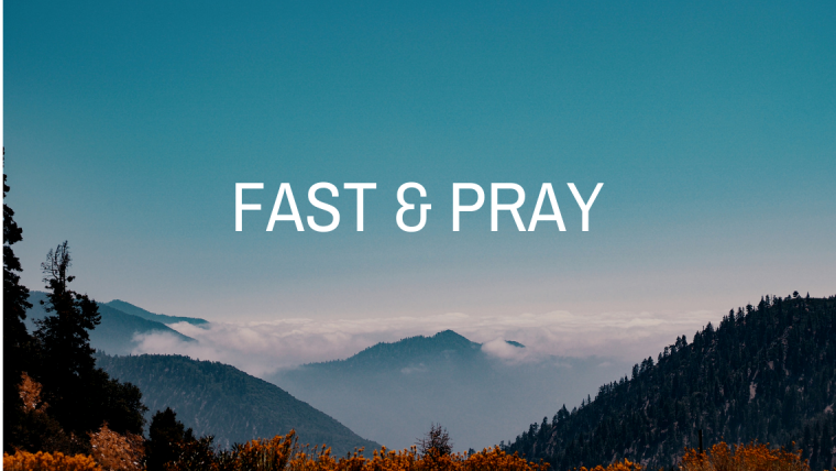 Prayer Points for 3 Day Fasting